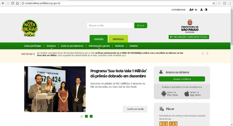 Como emitir nota fiscal em São Paulo
