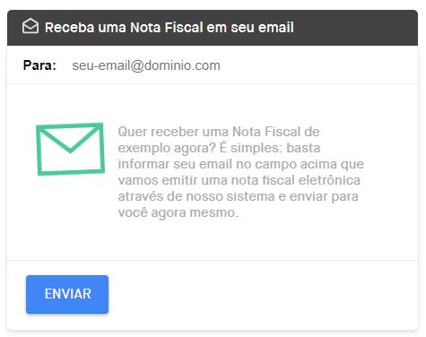 Como enviar nota fiscal eletronica por email para o cliente